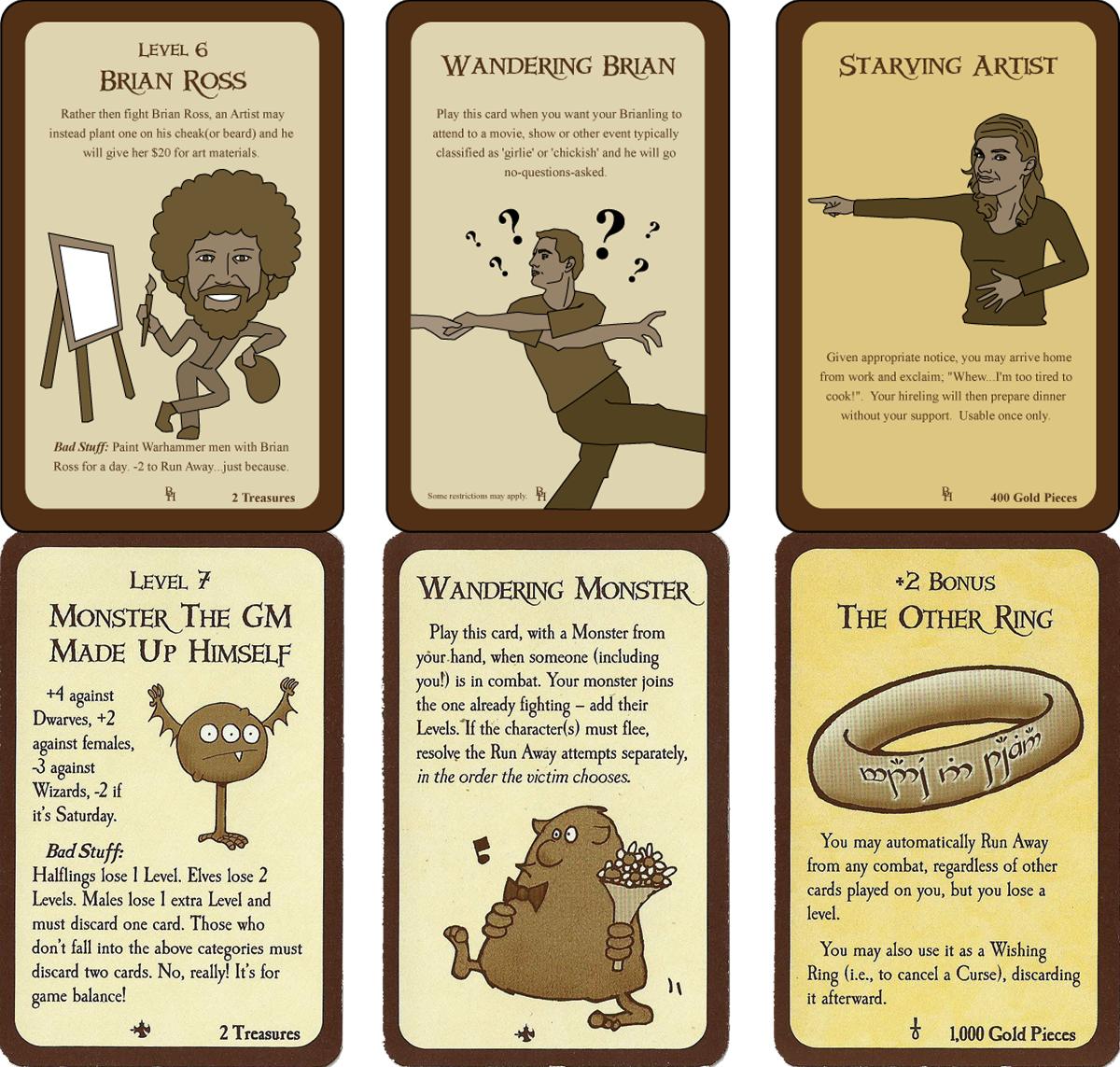 Munchkin Cards
